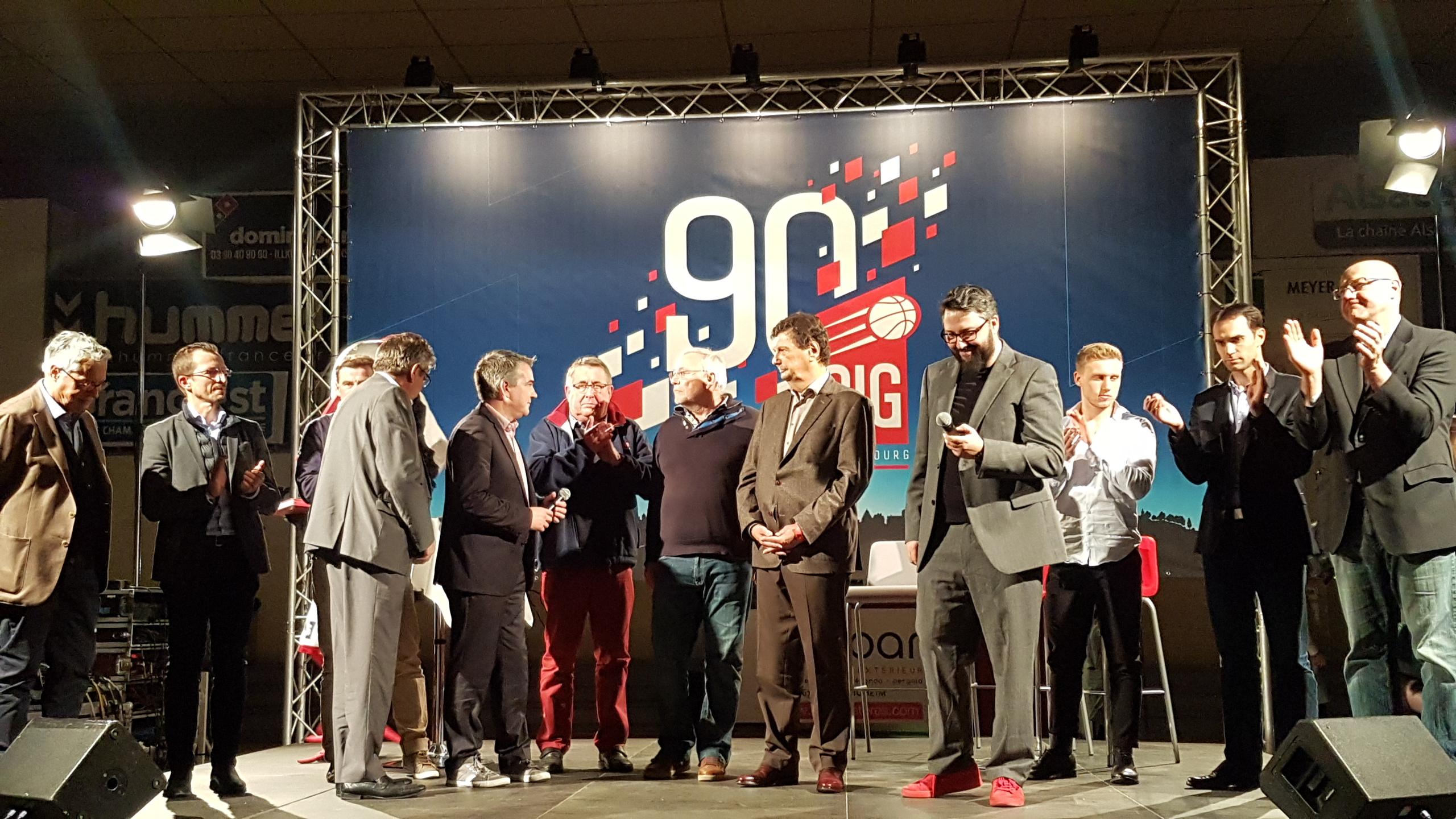 Soirée de lancement du livre des 90 ans