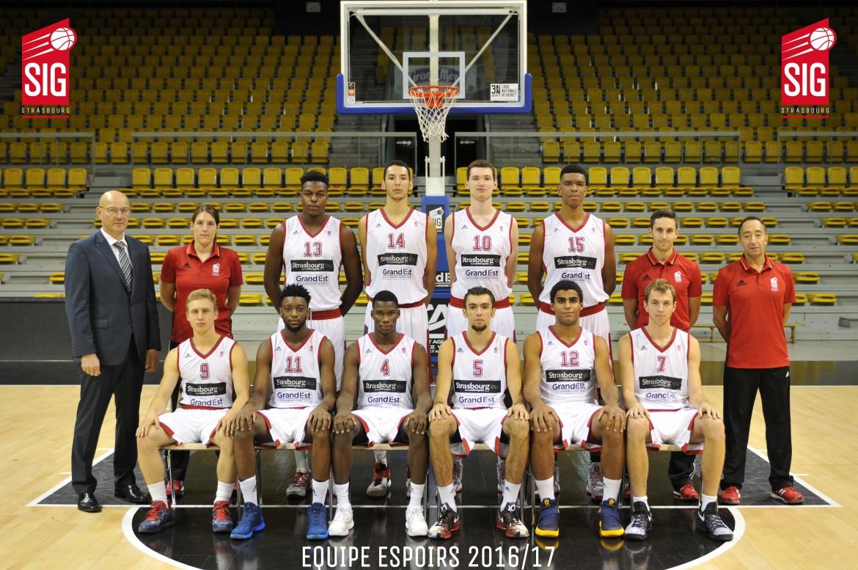 equipe espoirs 2016_17