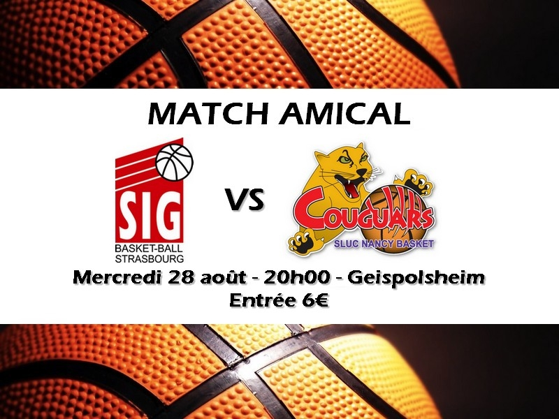 match amical nancy
