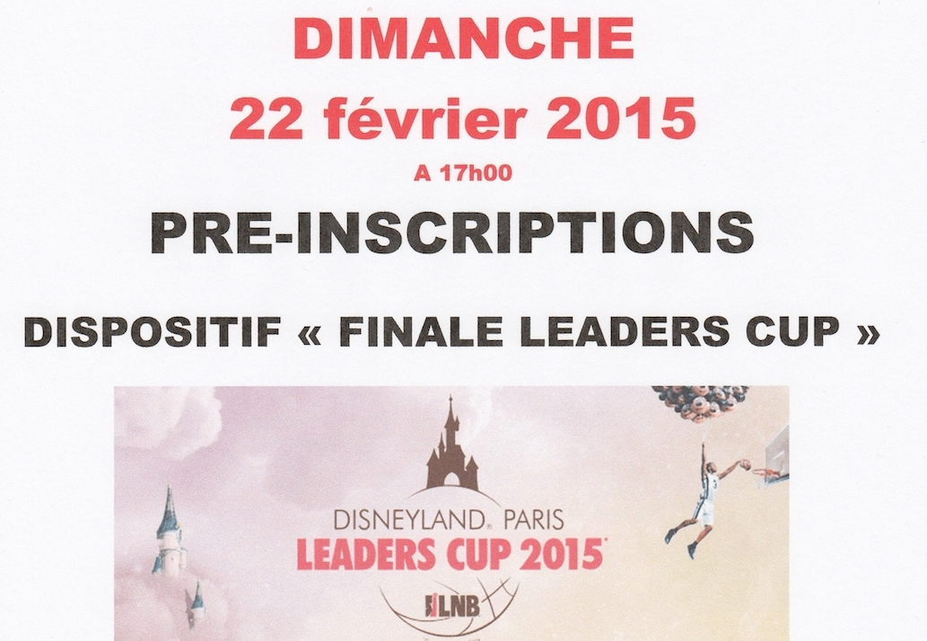 affiche leaders Cup 2015