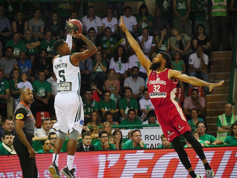 Limoges SIG_finale 4 playoffs 2015_Tony Dobbins et Jamar Smith