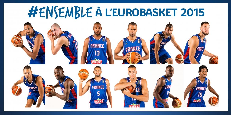 Equipe de France EURO basket 2015