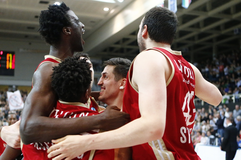 Eurocup 2016 - Basket ball - Dolomiti Energia Trentino vs Strasbourg