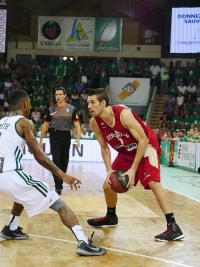 Limoges SIG_finale 4 playoffs 2015_Jeremy Leloup et jamar Smith