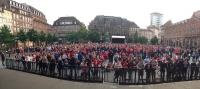 SIg fan place kleber finale playoffs Limoges Sig match#3