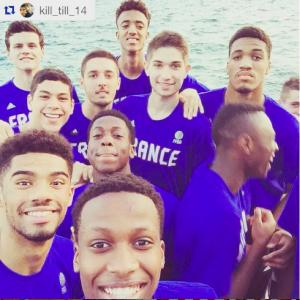France U18 à Volos