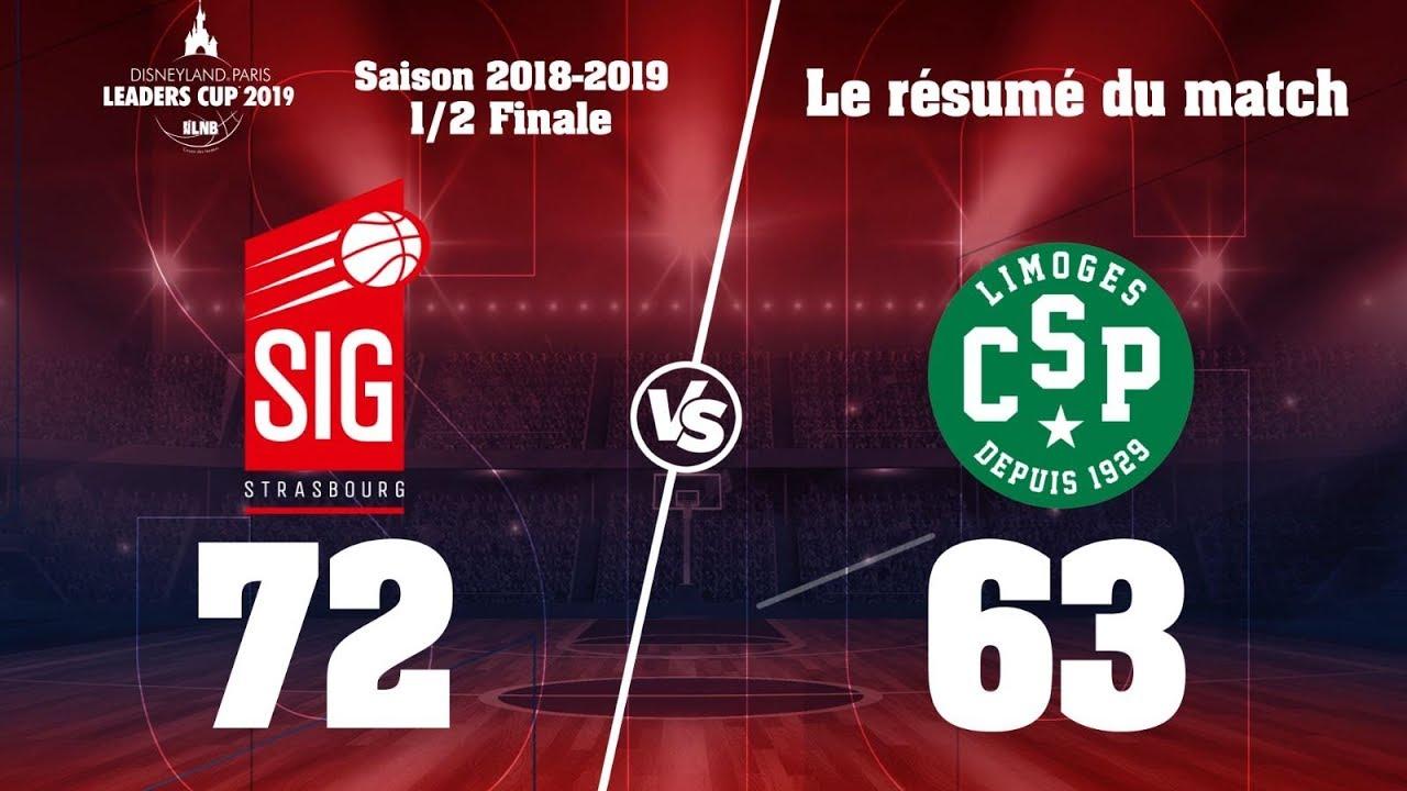 Leaders Cup 2019:  Les highlights de la demi-finale face à Limoges
