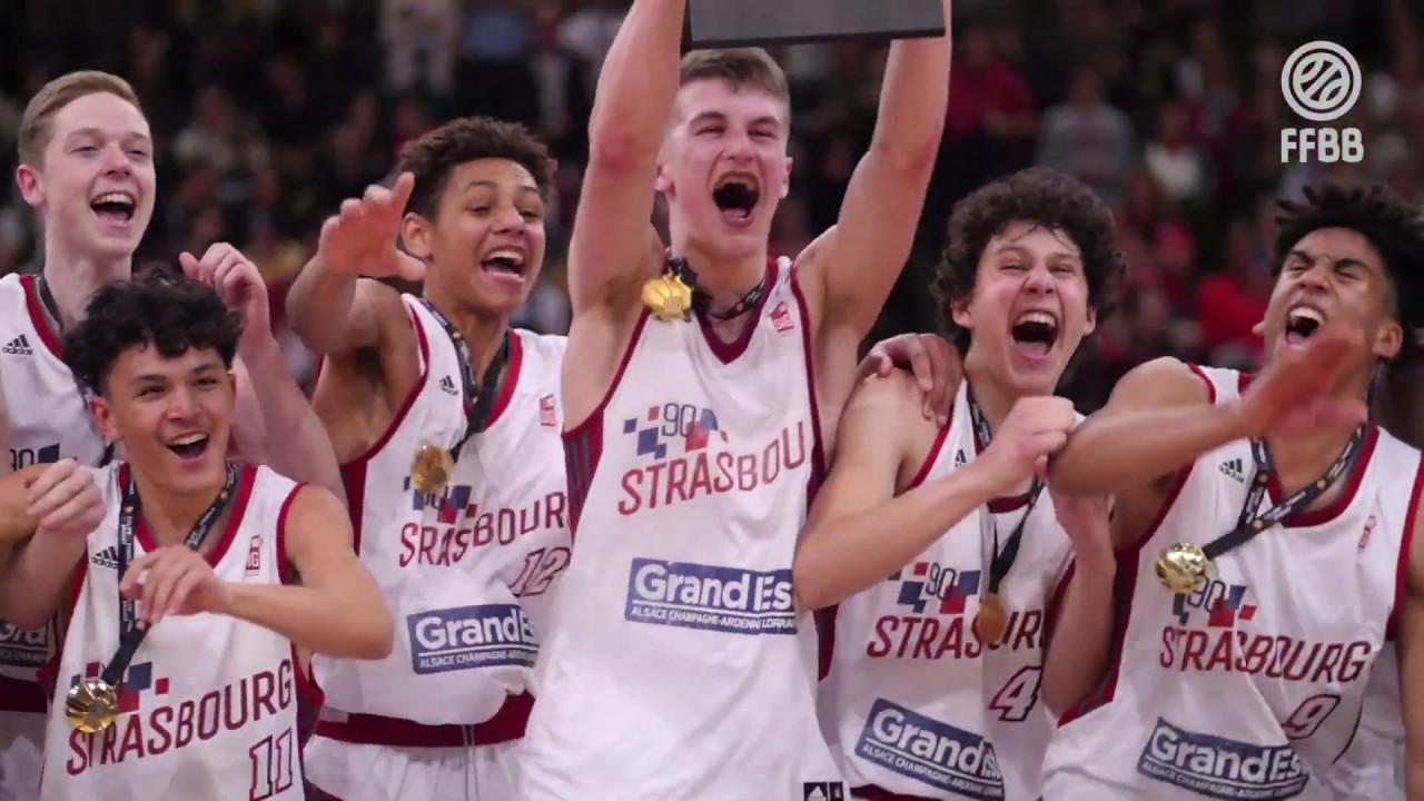 [HIGHLIGHTS] Finale Coupe de France U17 masculins | Strasbourg - Cholet