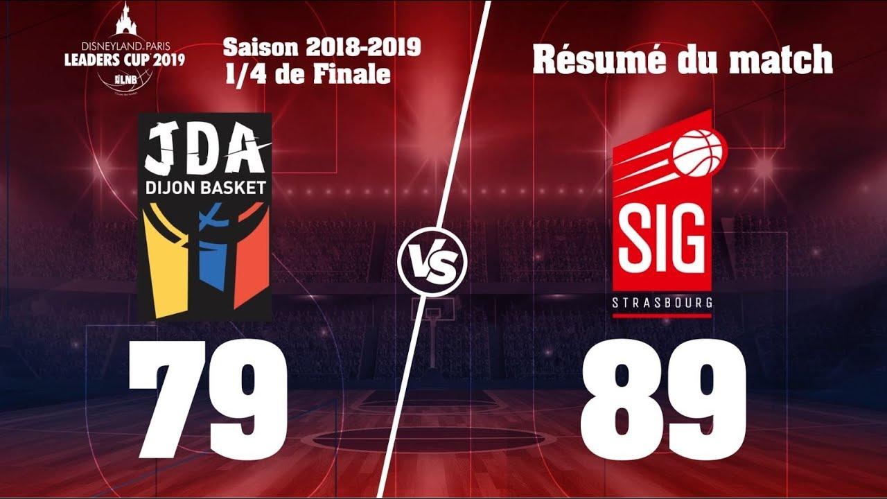 Leaders Cup 2019 :les 14 paniers à 3pts de la SIG Strasbourg face à Dijon