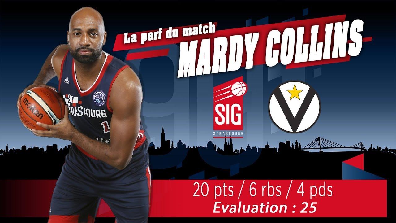 La perf' du match signée Mardy Collins