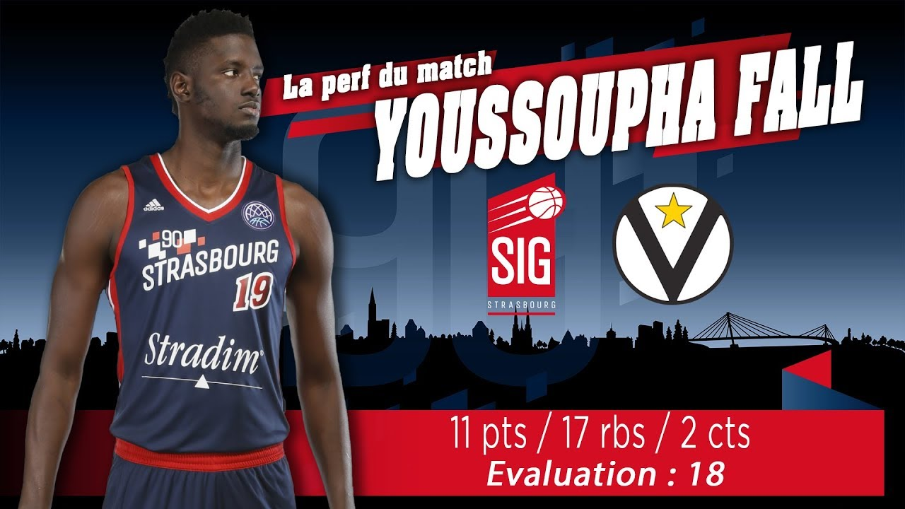 L'énorme double-double de Youssoupha Fall face à Bologne