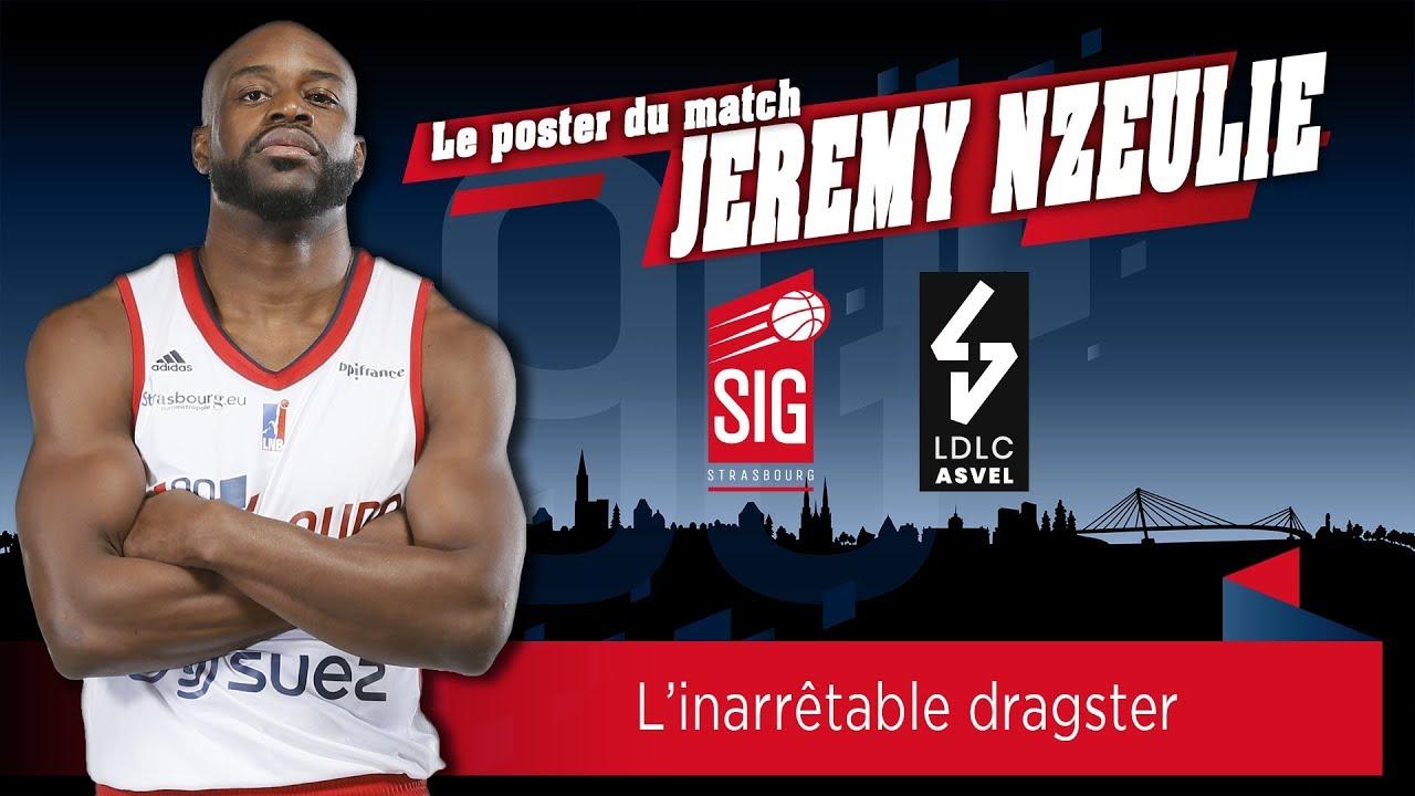 SIG Strasbourg-LDLC ASVEL: le poster du match signé Jérémy Nzeulie