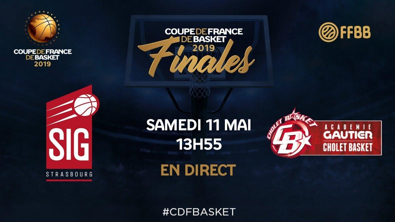 [LIVE] Finale U17 masculins | SIG Strasbourg - Cholet Basket