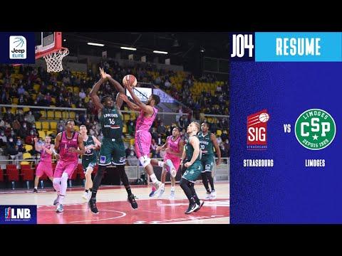 Strasbourg vs Limoges (66-74) - Résumé - 2020/21