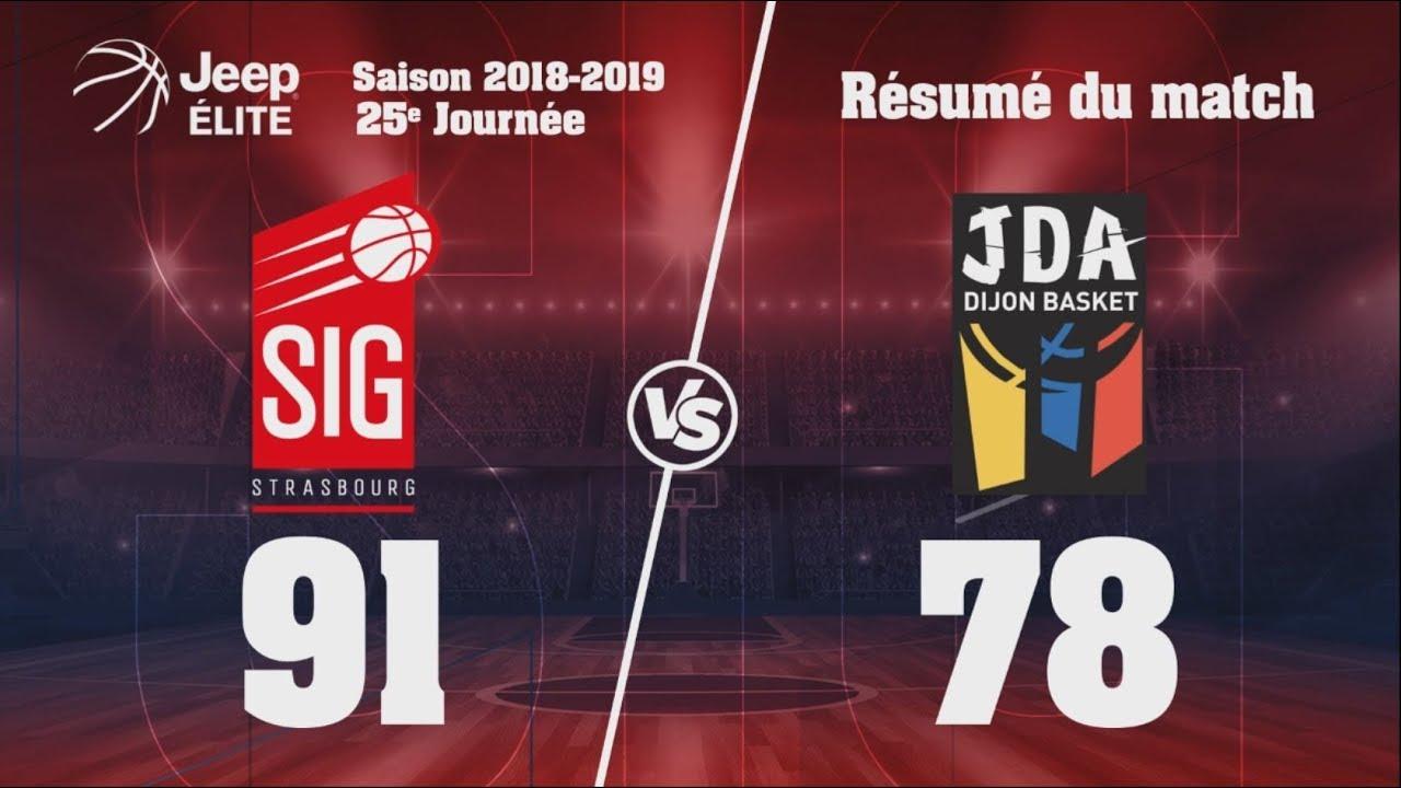 SIG Strasbourg - Dijon: Highlights et réactions Ali Traoré