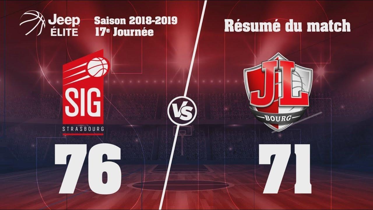 SIG Strasbourg-JL Bourg: Highlights et Réactions de Quentin Serron