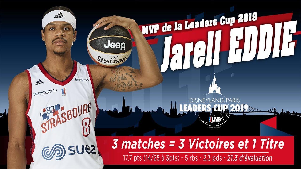 Leaders Cup 2019: le MVP Jarell Eddie en intégralité