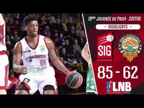 SIG Strasbourg-Le Portel : Highlights et réactions de Damien Inglis