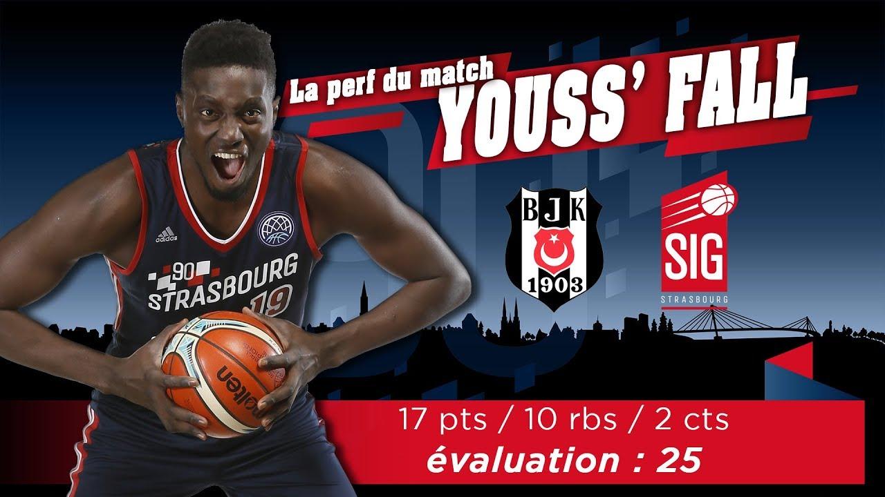 Besiktas-SIG Strasbourg: la perf du match signée Youssoupha Fall