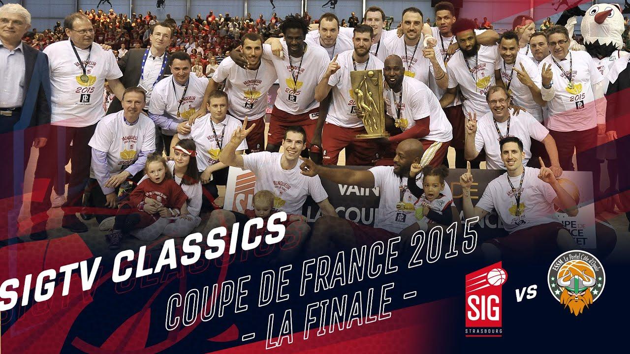 SIG Classics : Finale de la Coupe de France 2015 - SIG-Le Portel