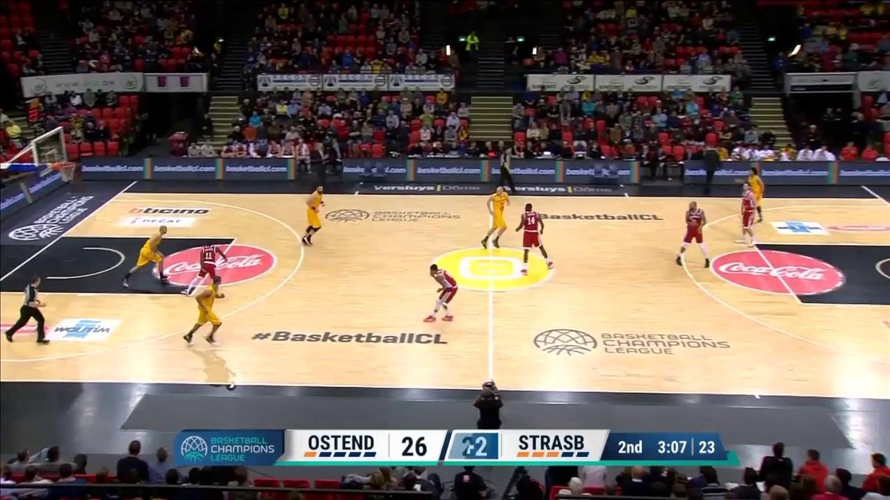Highlights Ostende/SIG Strasbourg