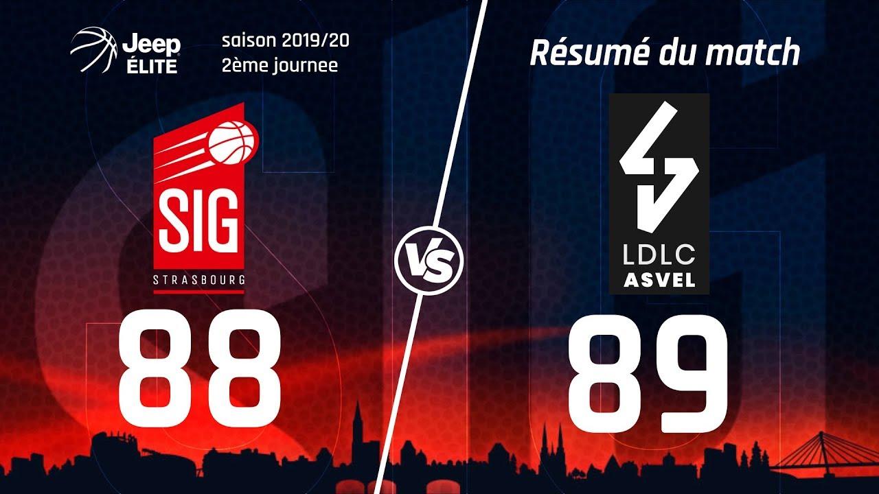 SIG Strasbourg-LDLC ASVEL: Highlights et réactions de Damien Inglis