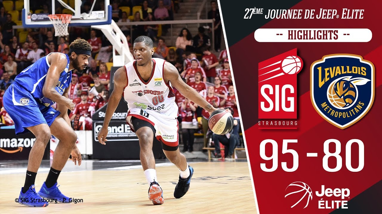 SIG Strasbourg-Levallois: highlights et réactions Damien Inglis