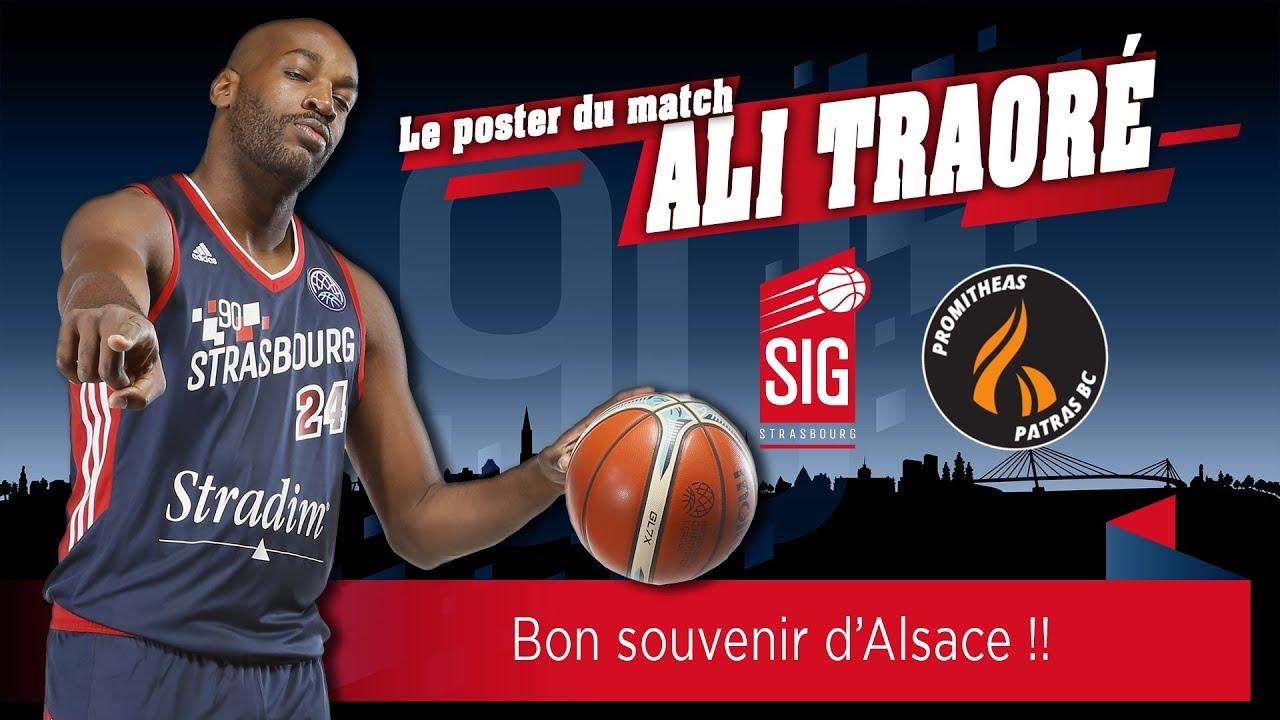 Le poster du match signé Ali Traoré