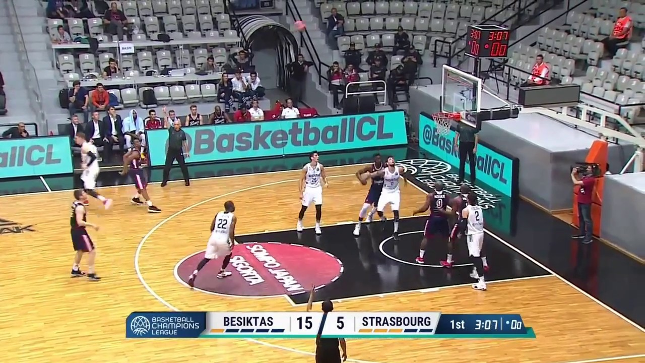 Highlights de la SIG Strasbourg face à Besiktas