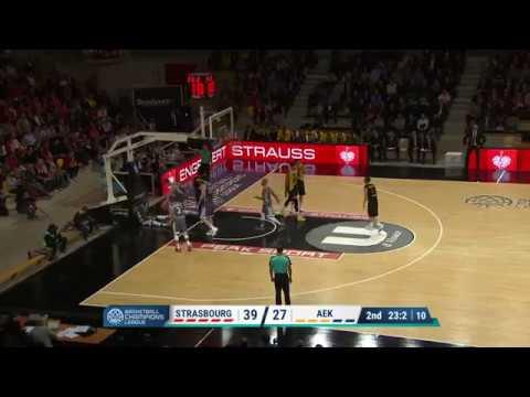 Highlights SIG Strasbourg/AEK Athènes