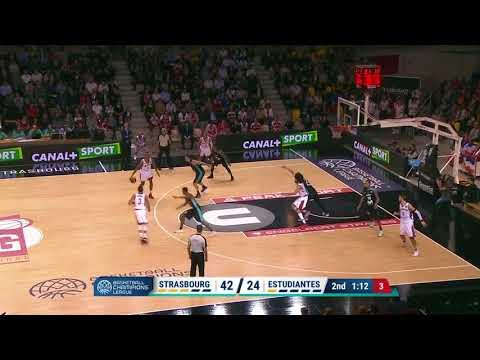 Highlights SIG Strasbourg/Estudiantes Madrid
