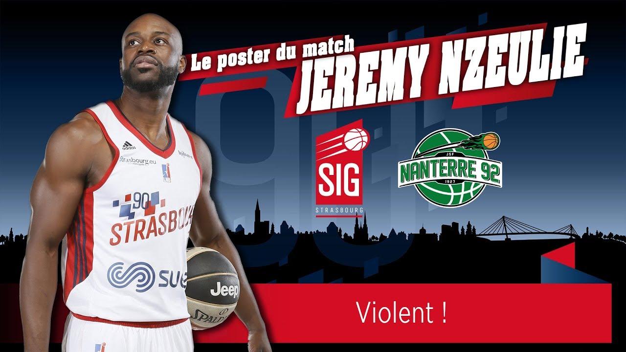 Le poster du match signé Jérémy Nzeulie !