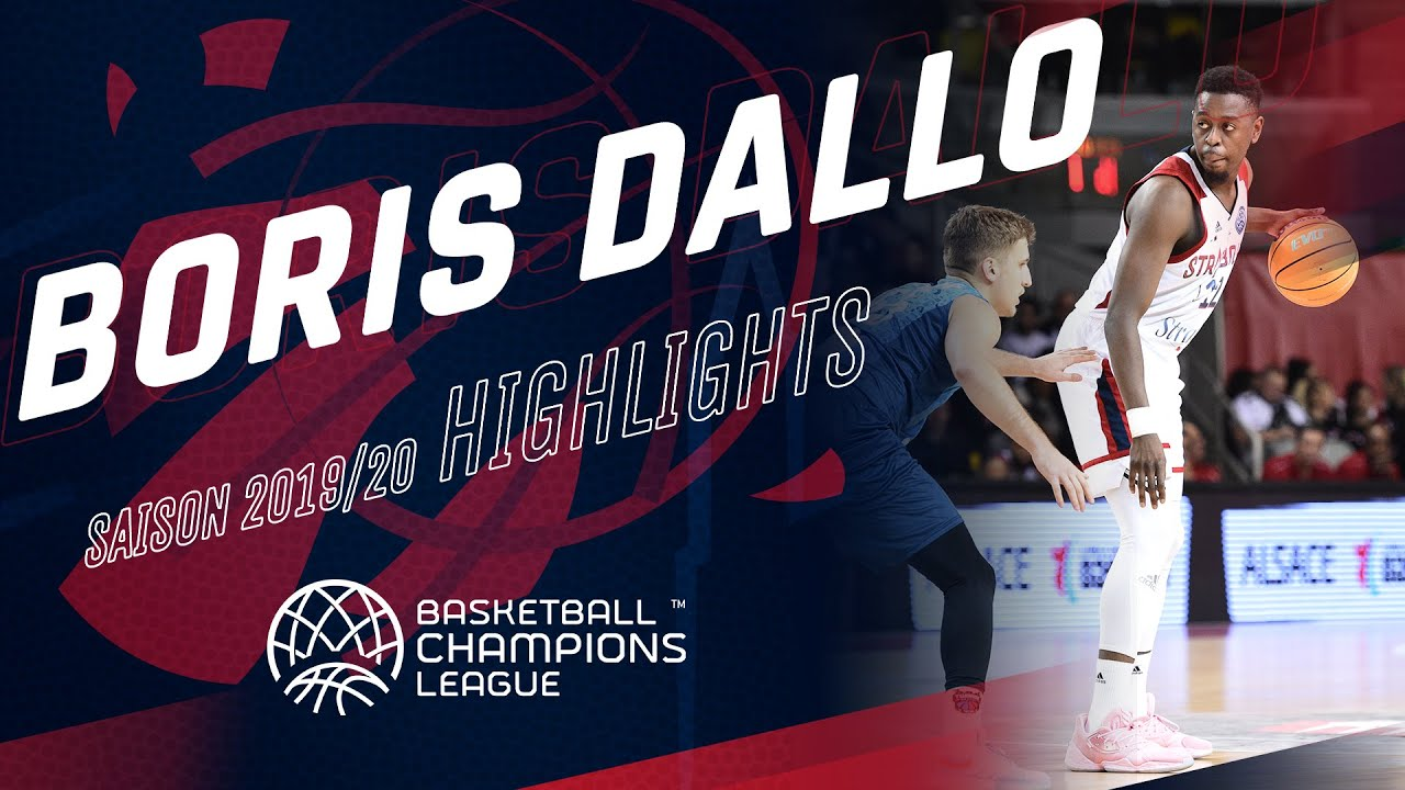 Boris Dallo : highlights Basketball Champions League 19/20