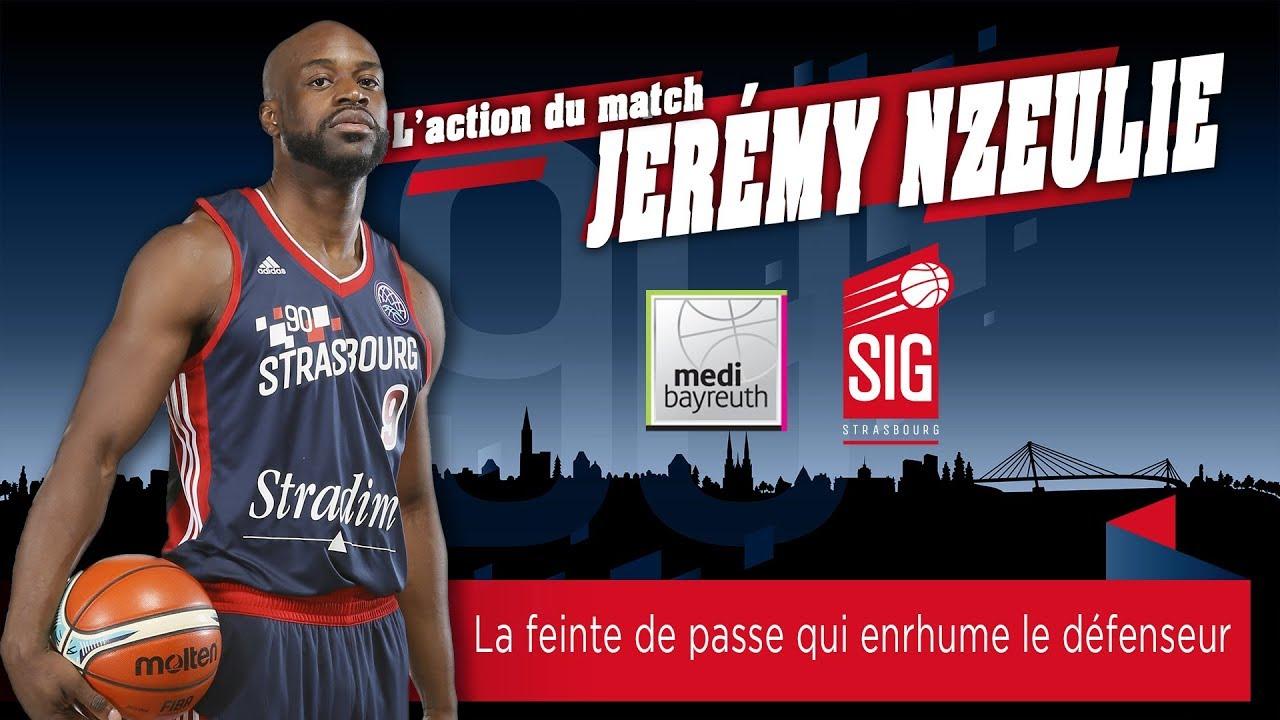 Bayreuth-SIG Strasbourg: l'action du match signée Jérémy Nzeulie