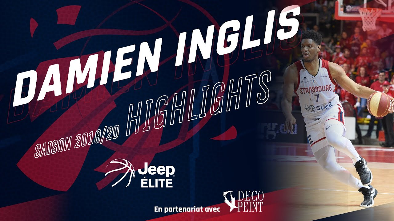 Damien Inglis : highlights Jeep ELITE 19/20