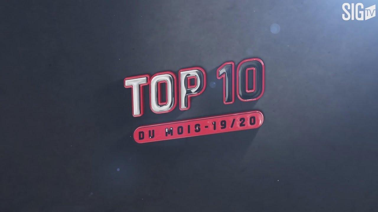 Top 10 octobre 2019