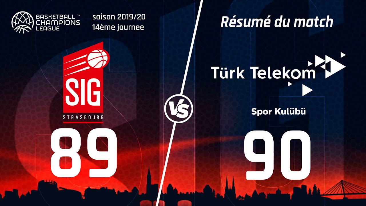 SIG Strasbourg-Ankara : les highlights du match