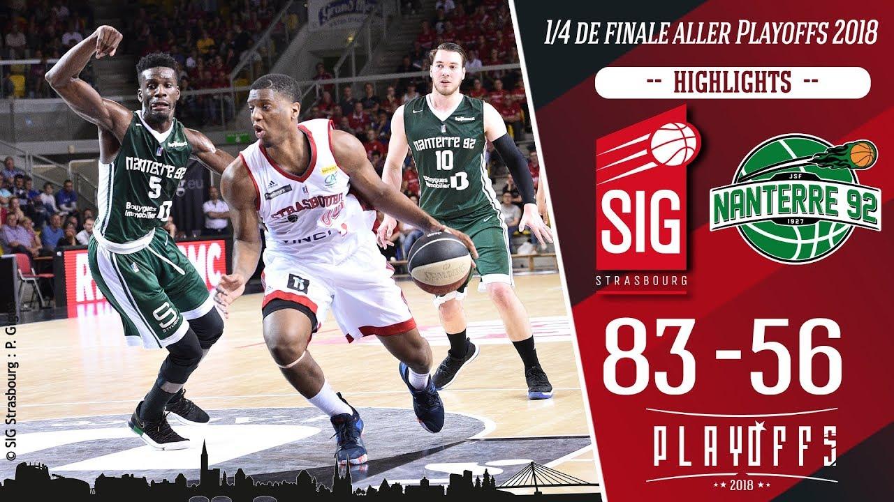 SIG Strasbourg-Nanterre 92: highlights et réactions Damien Inglis