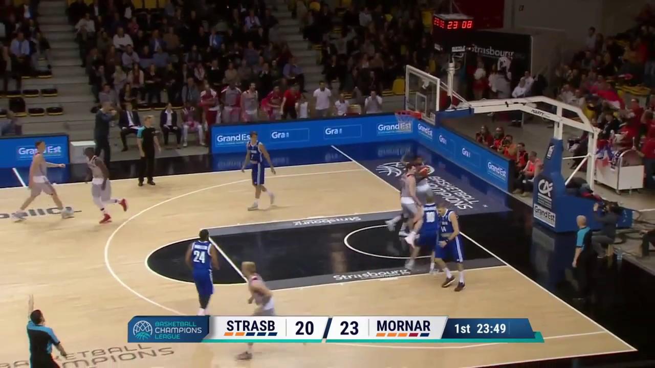 Highlights SIG Strasbourg / KK Mornar