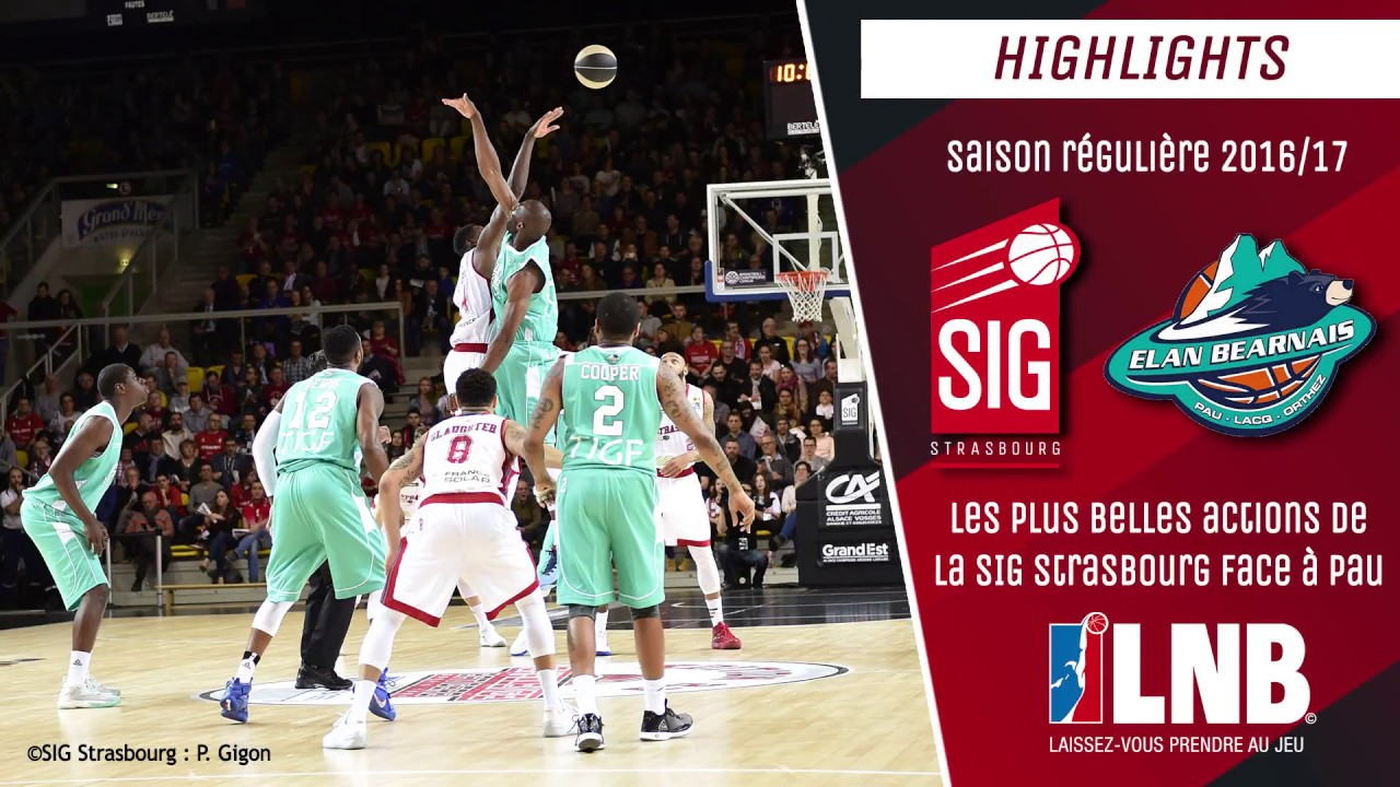 SIG Strasbourg-Pau: le best of 2016/17