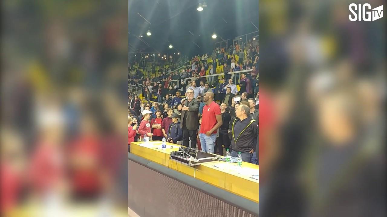 Le public de la SIG Strasbourg digne et solidaire