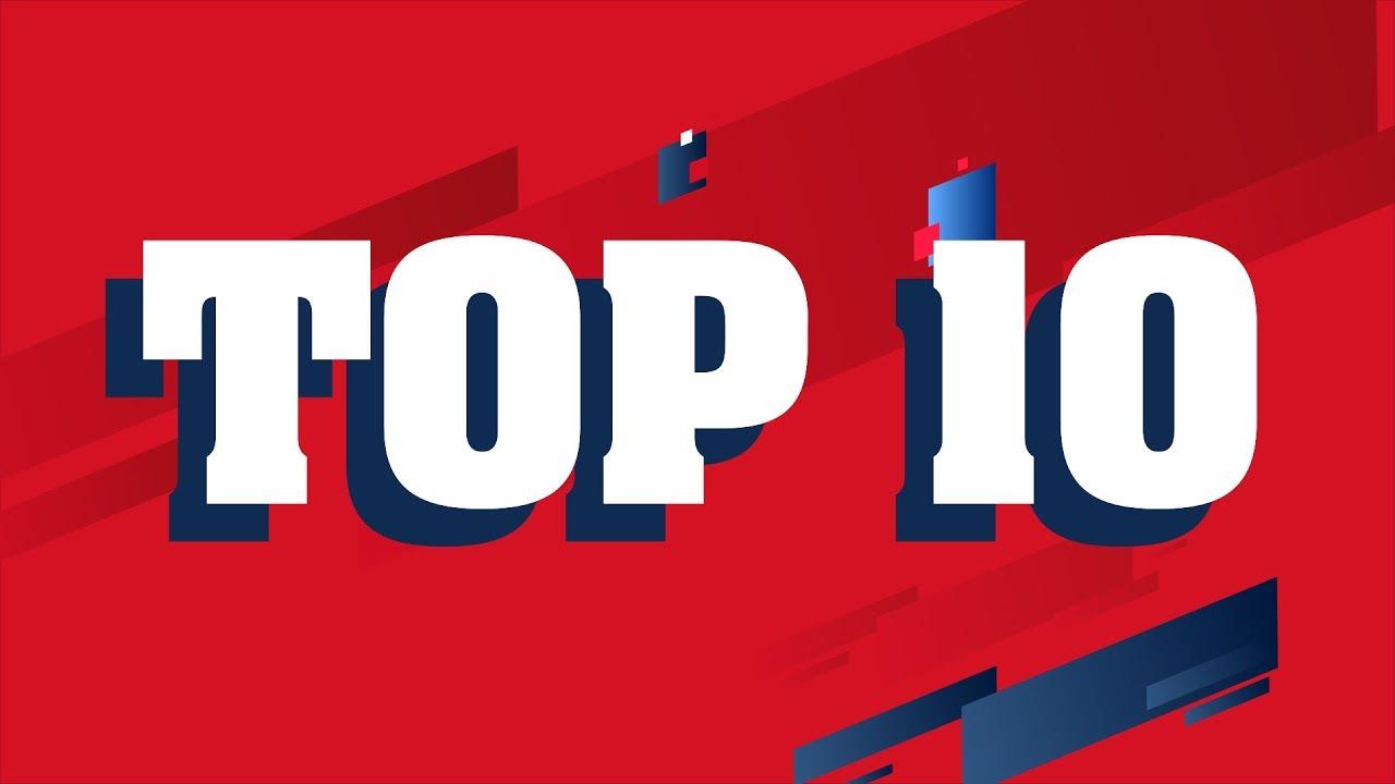 Top 10 janvier 2019