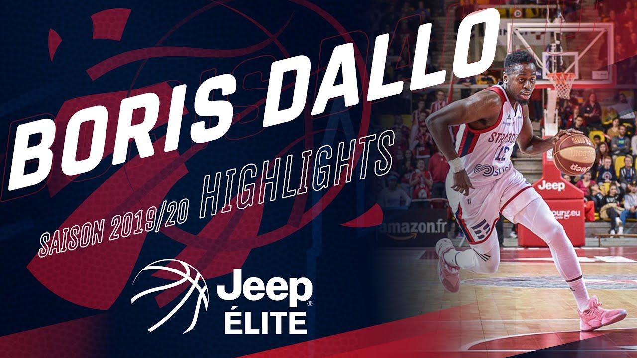 Boris Dallo : highlights Jeep Elite 19/20