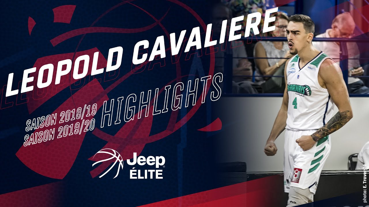 Léopold Cavalière: Highlights Jeep ELITE