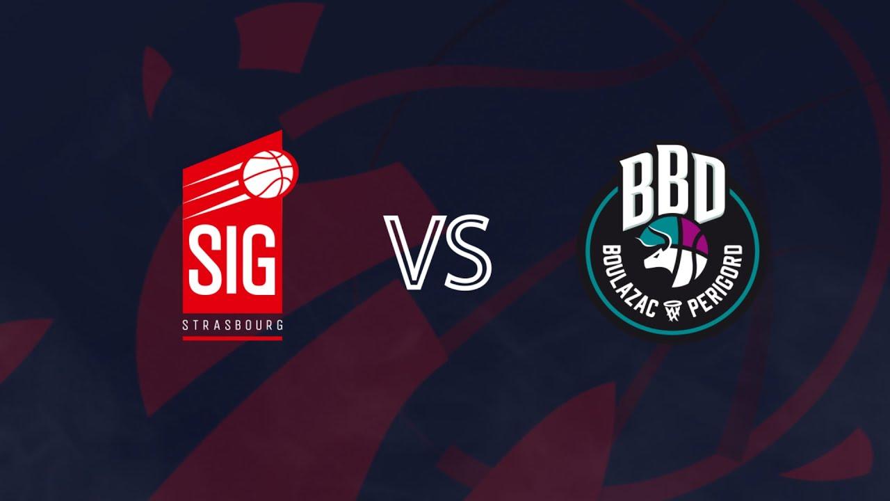 SIG Strasbourg-Boulazac : résumé du match