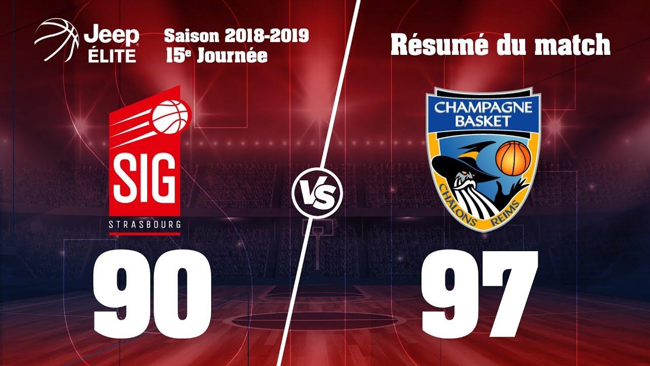 SIG Strasbourg-Châlons Reims: highlights et réactions d'Ali Traoré