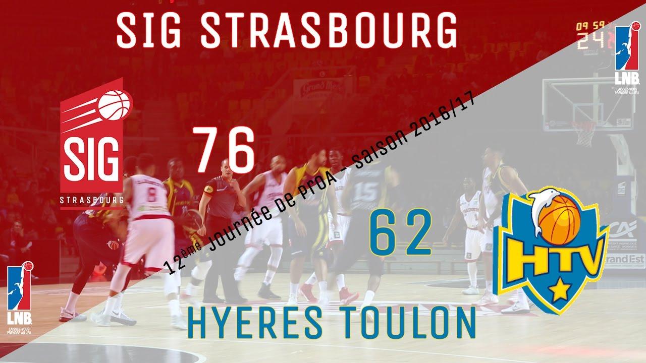 12ème journée de ProA, SIG Strasbourg/Hyères-Toulon: les réactions