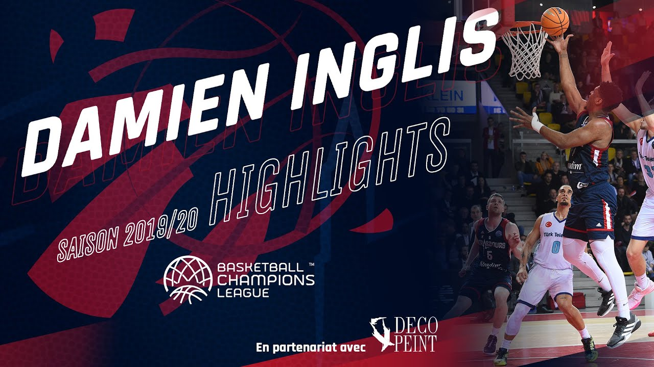 Damien Inglis : highlights Basketball Champions League 19/20