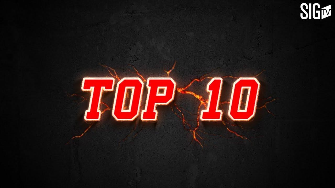 TOP 10 du mois de janvier