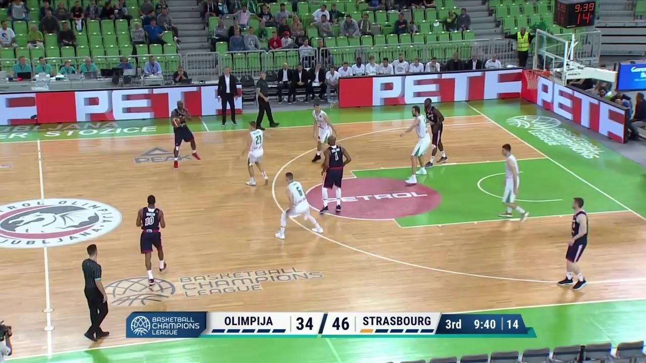 Highlights de la SIG Strasbourg face à Ljubljana